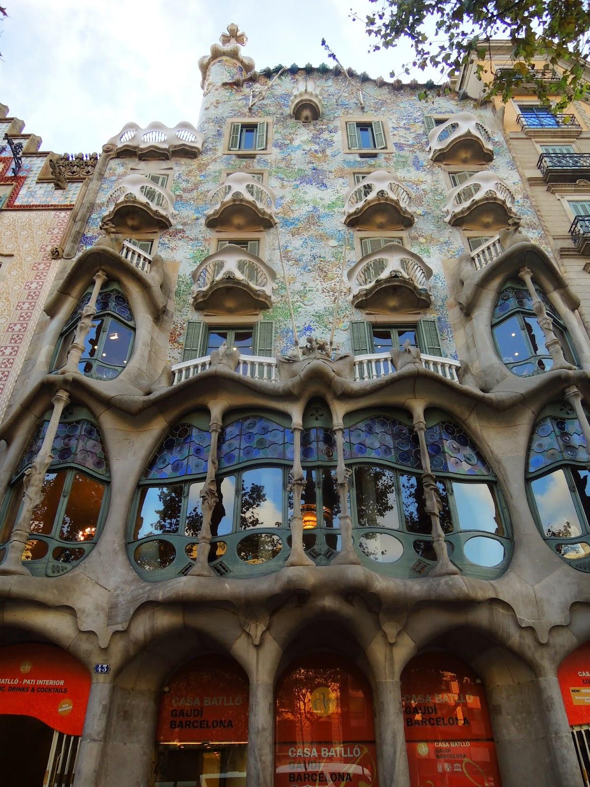 乏味遊記: [西班牙] 巴塞隆納景點 Barcelona
