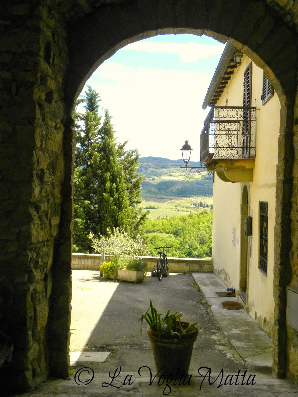 Montefioralle Chianti Toscana