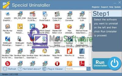 cara uninstall software dengan benar dan bersih dengan special uninstaller full
