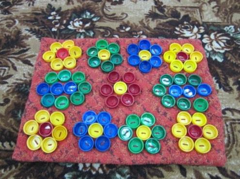 Массажный коврик для малыша: польза и коллекция идей, детский массажный коврик своими руками, развивающие игрушки для малышей как сделать, http://handmade.parafraz.space/