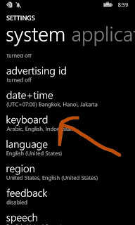 Cara instal dan mengetik font arab lengkap harakatnya di smartphone lumia