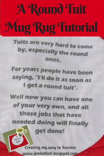 A Round Tuit Mug Rug