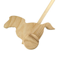 PU05, Push along Horse, Lotes Wooden Toys