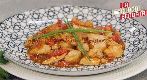 La Cuoca Bendata - Pollo in agrodolce ricetta Parodi