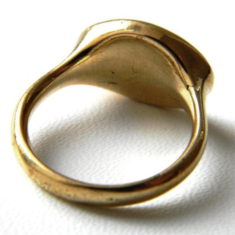 купить бронзовое кольцо с совой серебро латунь