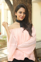 Rakul Preet Singh in lovely Pink Crop Top and Black Trousers at Jaya Janaki Nayaka success meet 004.JPG