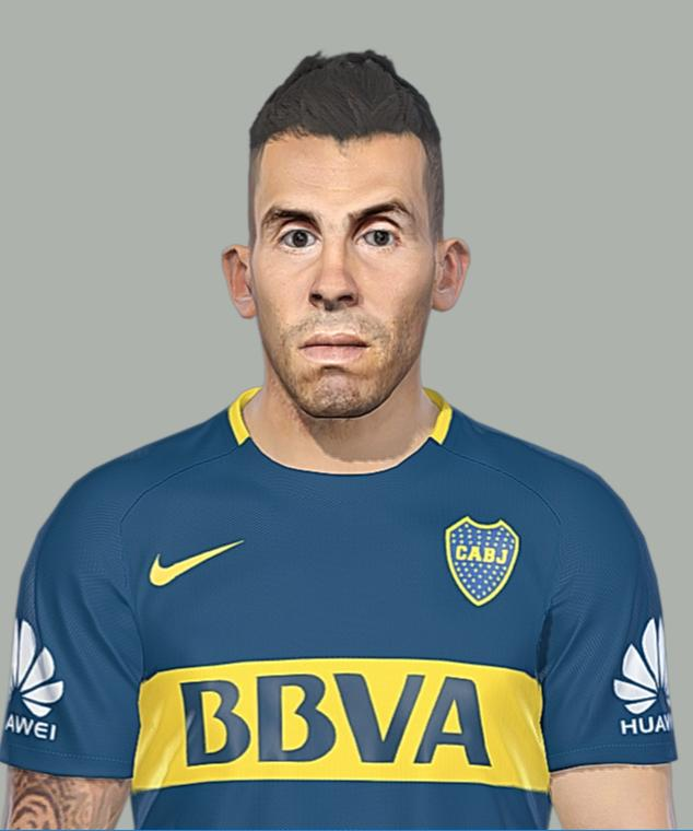 Ultigamerz Pes 2010 Pes 2011 Face: Ultigamerz: PES 2018 Carlos Tevez Face 23-03-2018