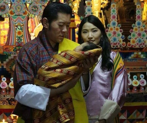 Bhutan's royal baby is name Jigme Namgyal Wangchuck. King Jigme Khesar and Queen Jetsun Pema