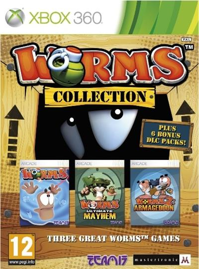 Worms Collection Xbox 360 Español PAL Descargar 2012