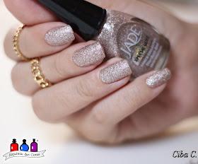 Jade, glitter forte, Stardust, rosa claro, Ciba, Cebella M., Semana Jade, carimbada, Pueen, Fancy Lover 01,