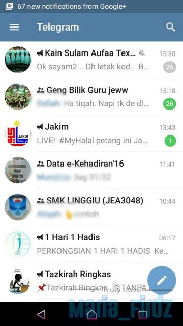 Kelebihan Telegram Berbanding Whatsapp!