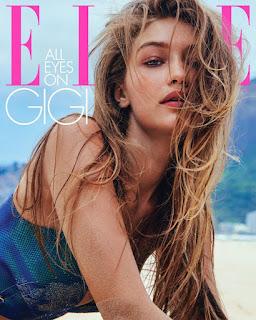 Gigi Hadid At ELLE Magazine US March 2019