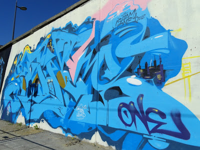Isham one graffiti