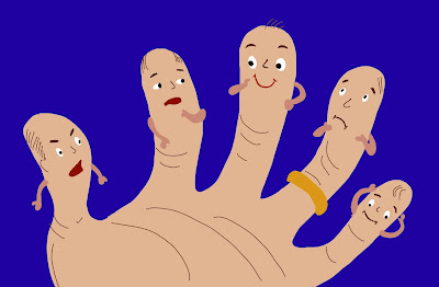 """Truyện """" Những ngón tay"""""""