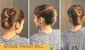 Reverse French Roll Hairstyle For Long Hair   Komal's Hairstyle