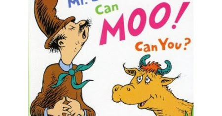 Mr. Brown Can Moo!