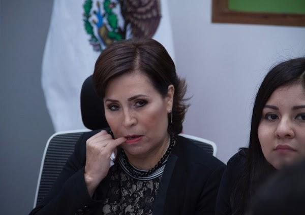 Rosario, la más 'vulgarcita' del gabinete, quiso cachetear a periodista en la boda de Eruviel