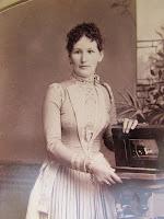 Auguste Behrend, la madre de Magda Goebbels