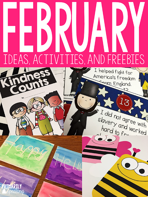 Teaching Ideas for the Month of February