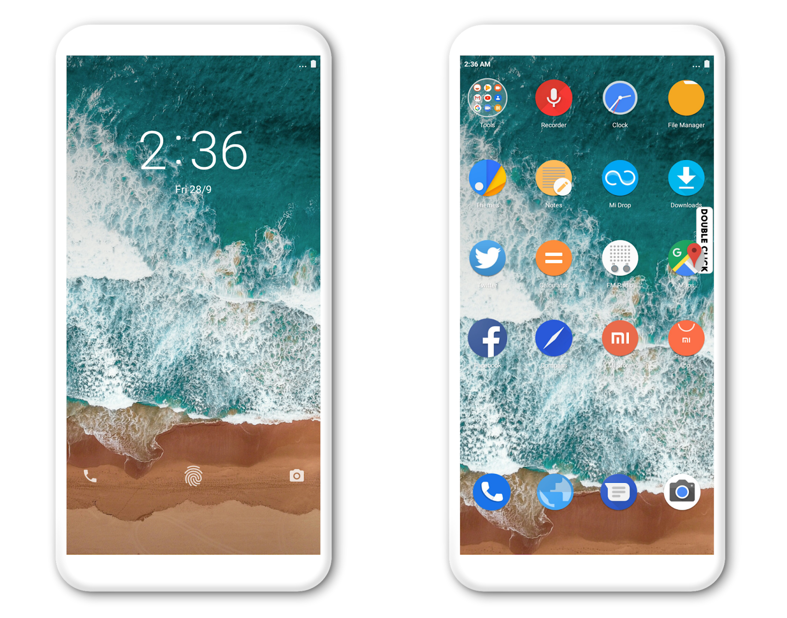 Android 9 0 Pie MIUI V10 Theme MTZ Download For Xiaomi Mobile - MIUI