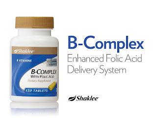 B Complex bantu naikkan hb ibu mengandung