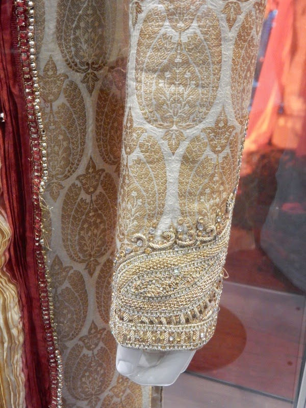 Second Best Exotic Marigold Hotel sherwani sleeve