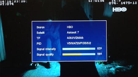 Bagaimana Cara Membuka Acakan Irdeto HBO di Asiasat 7