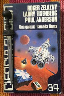 Portada del libro Una galaxia llamada Roma, de varios autores