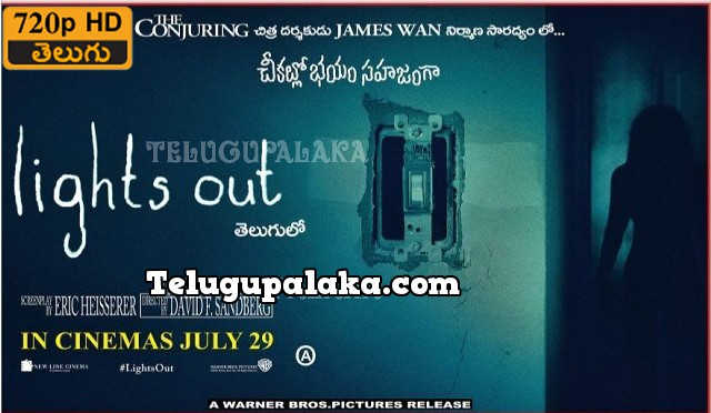 Lights Out (2016) 720p Bluray Telugu Dubbed Movie