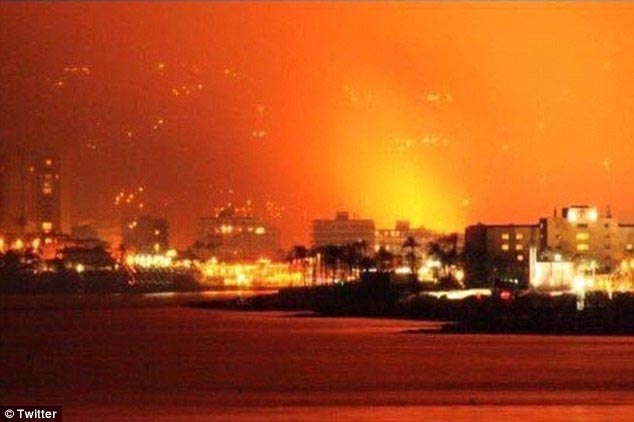 Fire allegedly started by teenagers causes hundreds to flee Costa Blanca
