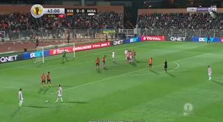 ملخص واهداف مباراة نهضة بركان وحسنية اكادير 2 - 1