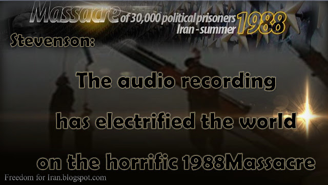 Struan Stevenson: U.N. must investigate 1988 massacre in Iran