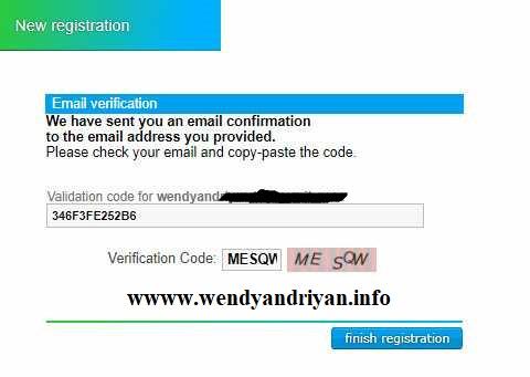 Kode Verifikasi Neobux