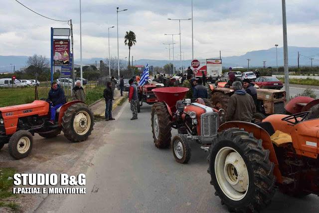 Κινητοποίηση των αγροτών της Αργολίδας σήμερα στο Ανυφί