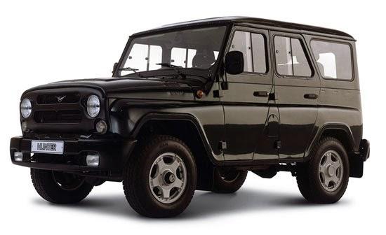 russian uaz 4x4 vehicle