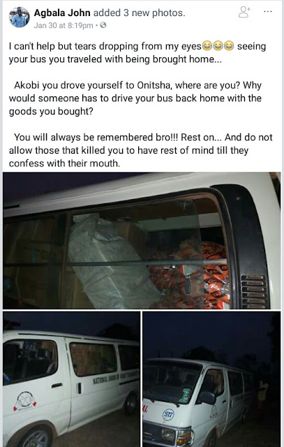 """""""Do not allow whoever that killed you to go free"""" - Friends mourn rich Benue businessman shot dead by unknown gunmen"""