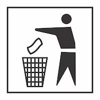 membuang sampah Vector