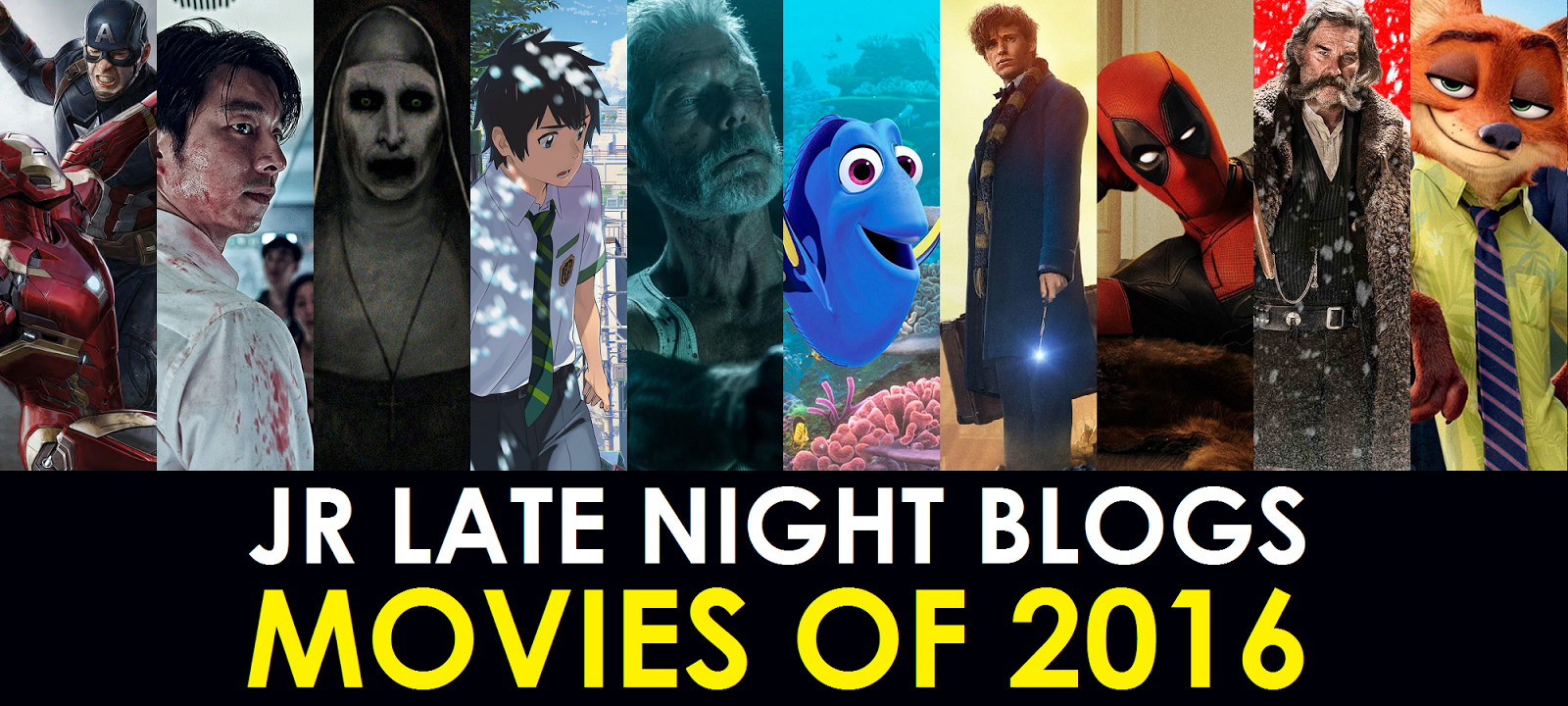 JR's Movies of the Year 2016