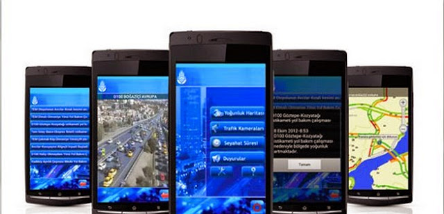 android+ibb+cep+trafik+uygulaması