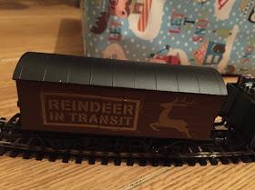 carriage off santa express train