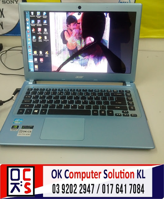 [SOLVED]SKRIN LAPTOP ACER V5-471 RETAK |REPAIR LAPTOP AMPANG 1