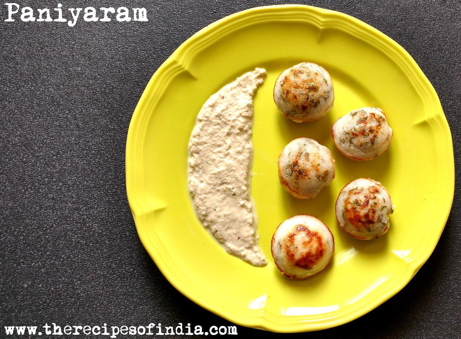 how to make panangai paniyaram