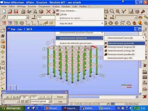 Formation-ROBOT-MODELISATION-Étude-bâtiment