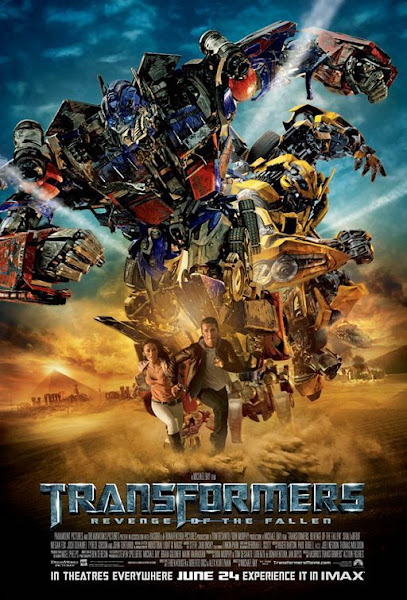 Poster of Transformers 2 (2009) Dual Audio 720p 1080p BluRay With ESubs Download