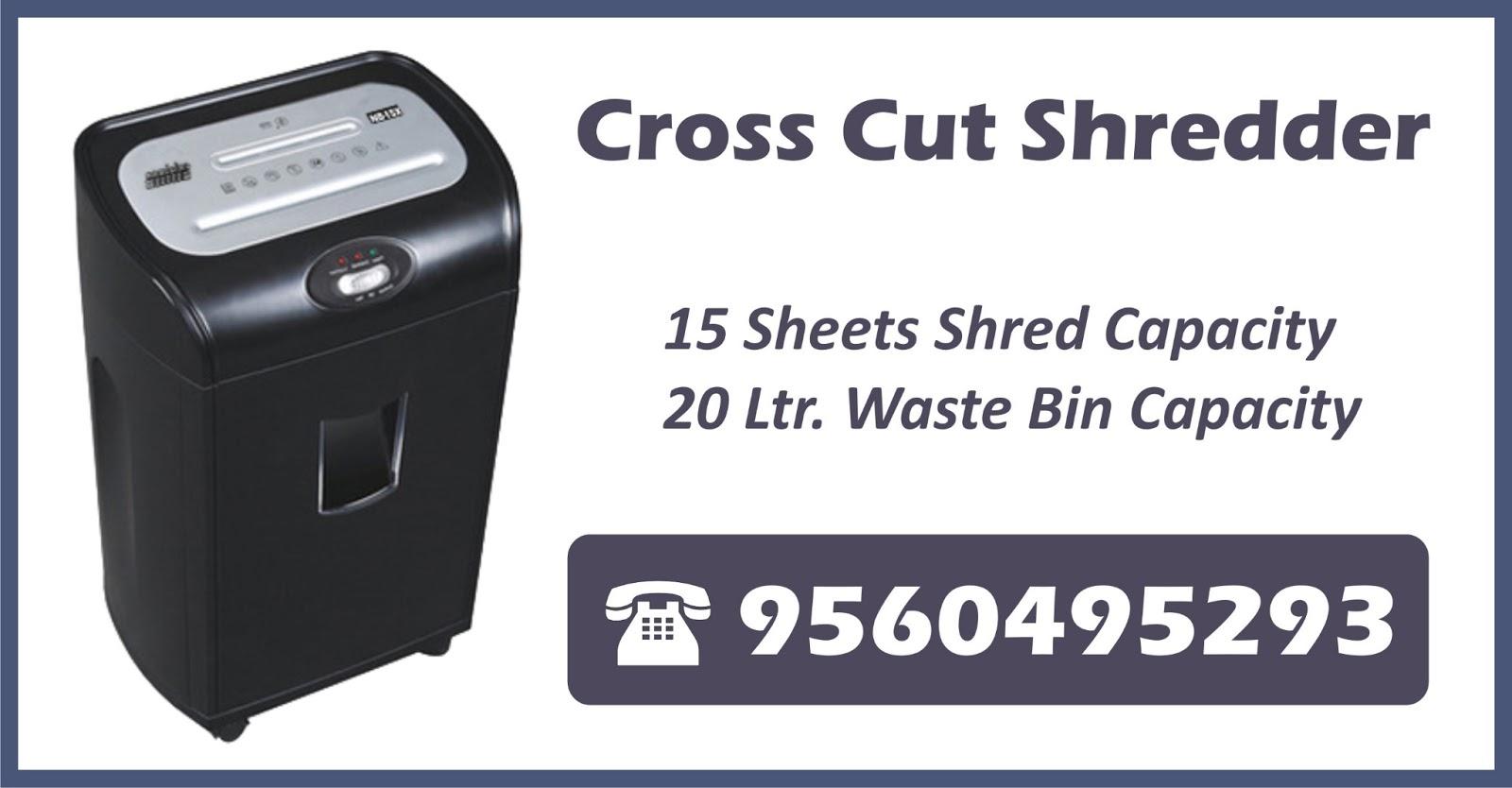 Paper Shredder Machine In Gurgaon