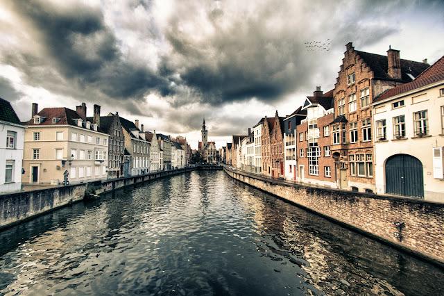 Canali su Spiegerlei-Bruges