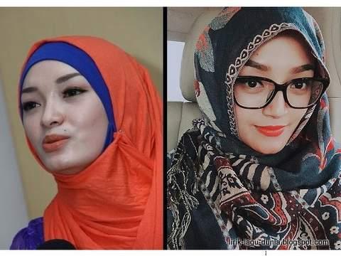 Zaskia Gotik dan Siti Badriah - Hijab