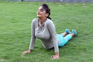 Pooja Sri Yoga Poshoot Stills 1.jpg