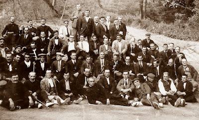 Excursión a La Verdaguera de los socios fundadores de la Cooperativa Andresense en 1930