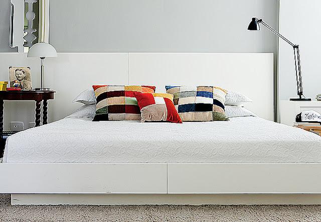 Dormitorios con paredes color gris by for Dormitorio gris